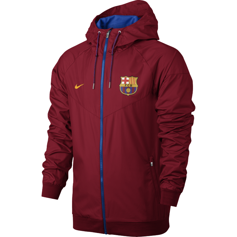 veste capuche fc barcelone rouge 2016 2017 sur. Black Bedroom Furniture Sets. Home Design Ideas
