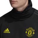 Sweat col montant Manchester United noir jaune 2019/20