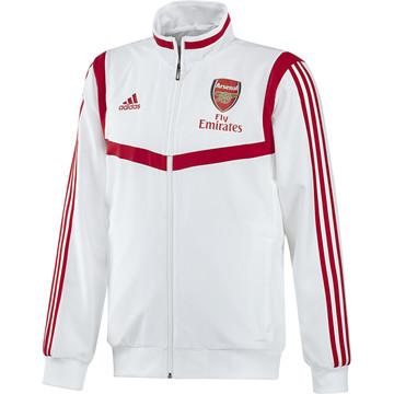 Veste entraînement Arsenal blanc rouge 2019/20