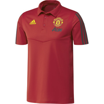 Polo Manchester United rouge 2019/20