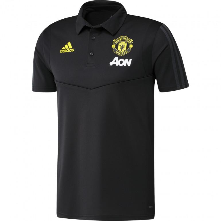 Polo Manchester United noir jaune 2019/20