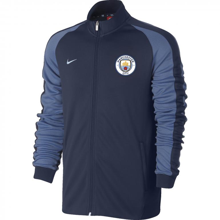 Veste Survêtement Manchester City N98 bleue 2016 - 2017