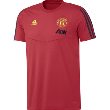 T-shirt Manchester United rouge noir 2019/20