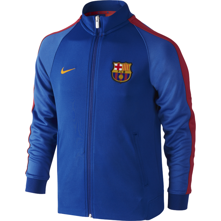 Veste junior FC Barcelone bleu 2016 - 2017