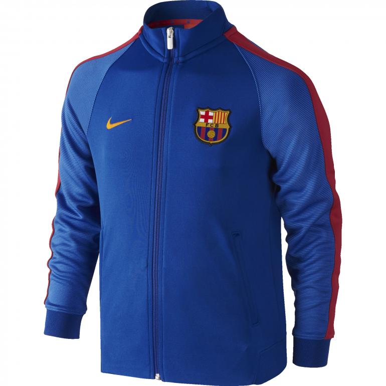 Veste junior FC Barcelone bleu 2016 - 2017