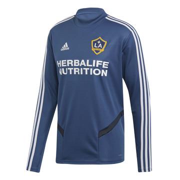 Sweat Los Angeles Galaxy bleu 2019/20