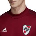 Sweat entraînement River Plate rouge 2019/20