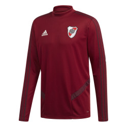 Sweat entraînement River Plate rouge 2019/20