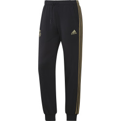 Pantalon survêtement Real Madrid molleton noir or 2019/20