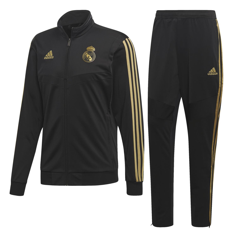Ensemble survêtement Real Madrid noir or 201920