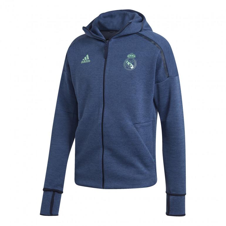 Veste survêtement Real Madrid ZNE HD bleu 2019/20