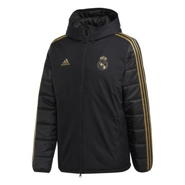 Doudoune Real Madrid noir or 2019/20
