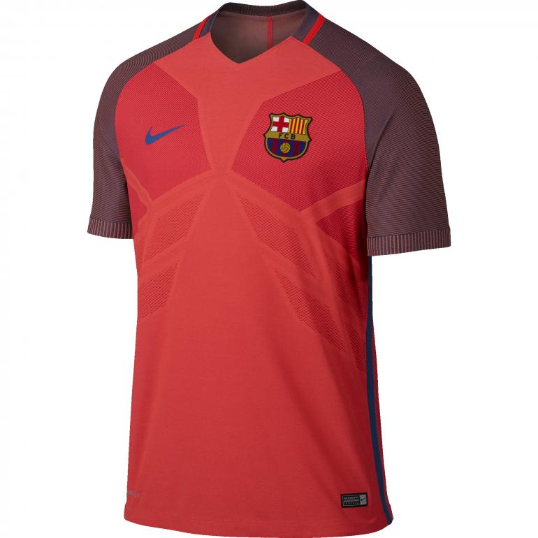 Maillot technique entraînement FC Barcelone rouge 2016 - 2017