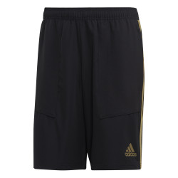 Short entraînement Real Madrid micro fibre noir or 2019/20