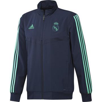 Veste entraînement Real Madrid vert bleu 2019/20