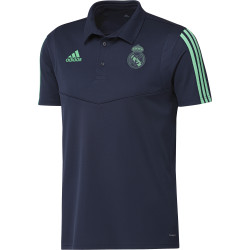 Polo Real Madrid bleu vert 2019/20