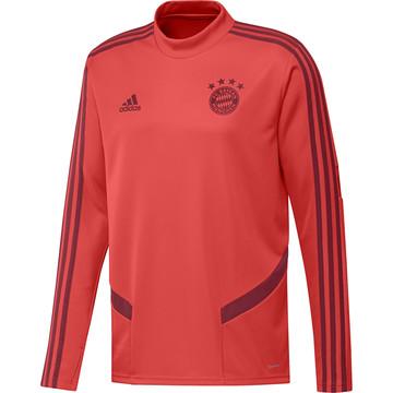 Sweat entraînement Bayern Munich rouge 2019/20
