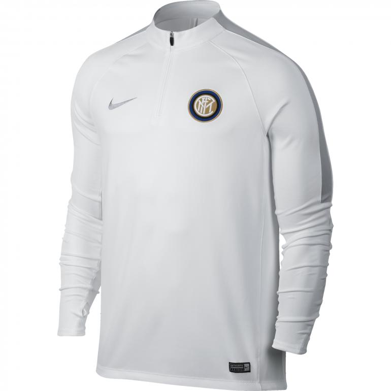 Sweat Zippé Inter Milan blanc 2016 - 2017