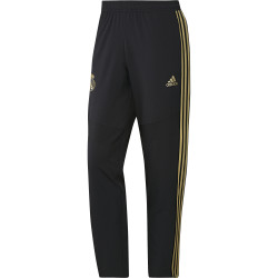 Pantalon survêtement woven Real Madrid noir or 2019/20