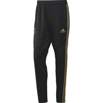Pantalon survêtement Real Madrid noir or 2019/20