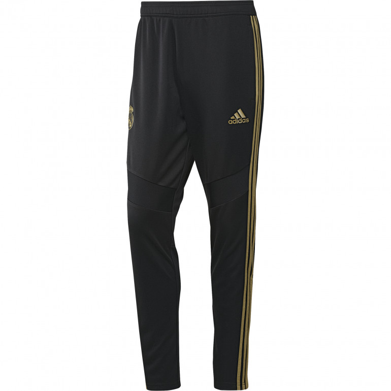Pantalon survêtement Real Madrid noir or 2019/20