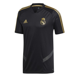 Maillot entraînement Real Madrid noir or 2019/20