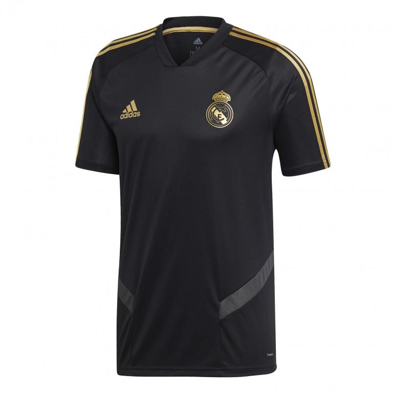 Maillot entraînement Real Madrid noir or 2019/20