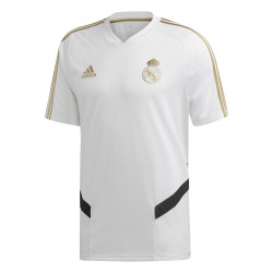 Maillot entraînement Real Madrid blanc or 2019/20