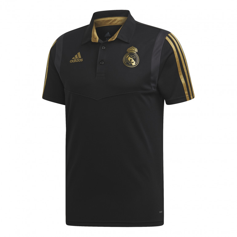 Polo Real Madrid noir or 2019/20