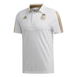 Polo Real Madrid blanc or 2019/20