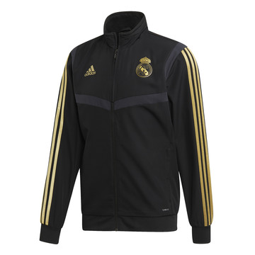 Veste entraînement Real Madrid noir or 2019/20