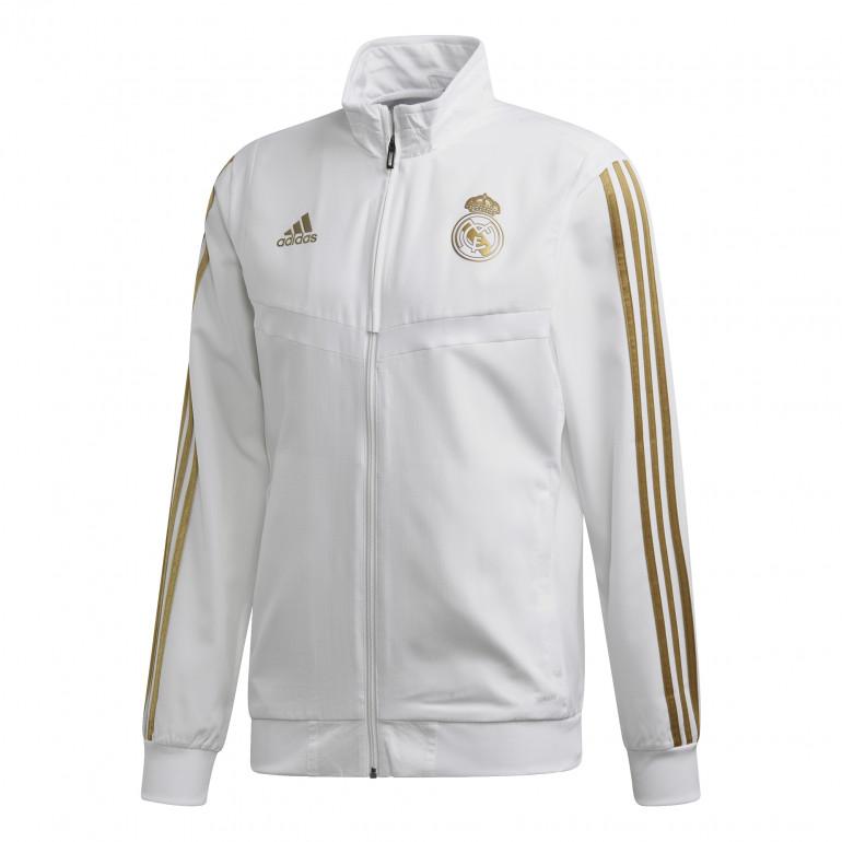 Vest entraînement Real Madrid blanc or 2019/20