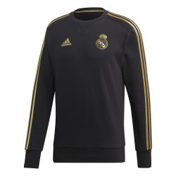 Sweat Real Madrid noir or 2019/20
