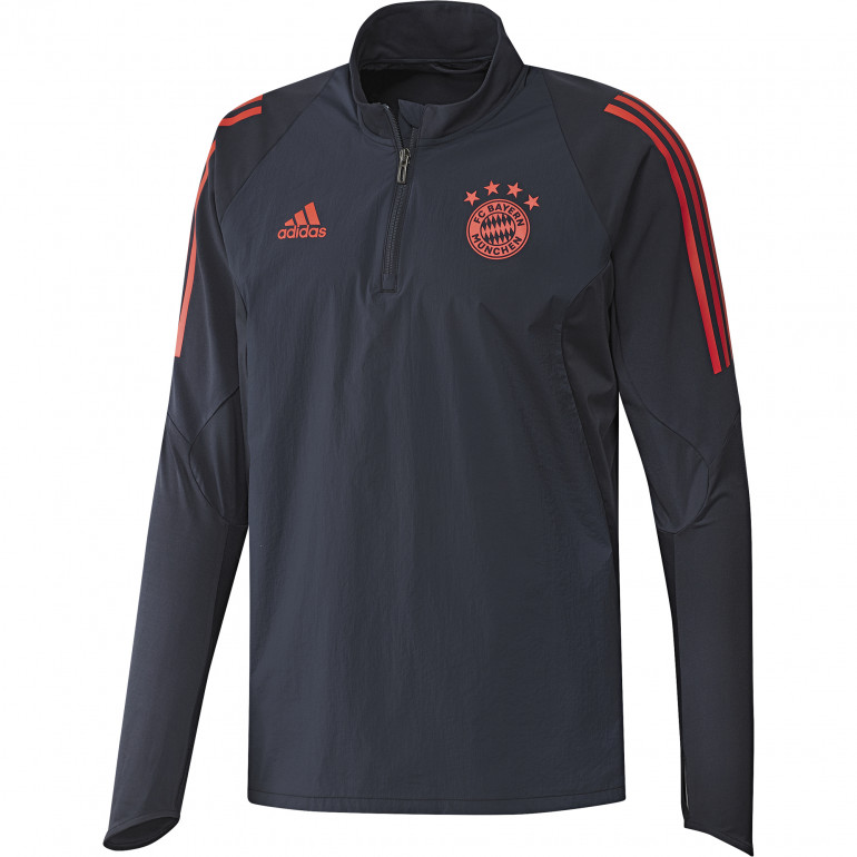 Sweat zippé Bayern Munich bleu orange 2019/20