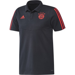 Polo Bayern Munich bleu orange 2019/20