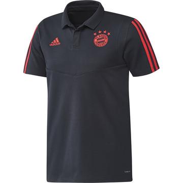 Polo Bayern Munich bleu orange 2019/20