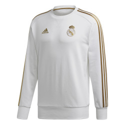 Sweat Real Madrid blanc or 2019/20