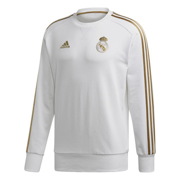 Sweat Real Madrid blanc or 2019/20
