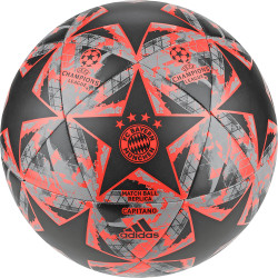 Ballon Bayern Munich Ligue des Champions noir orange 2019/20