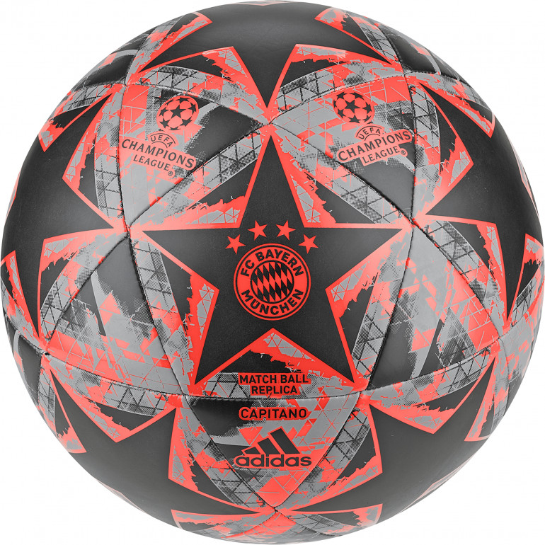 Ballon Bayern Munich Ligue des Champions noir orange 2019/20