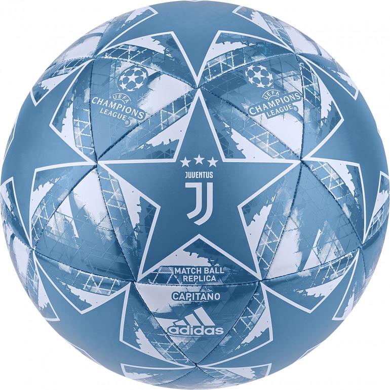Ballon Ligue des Champions Juventus bleu 2019/20