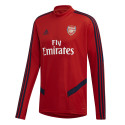 Sweat entraînement Arsenal rouge 2019/20