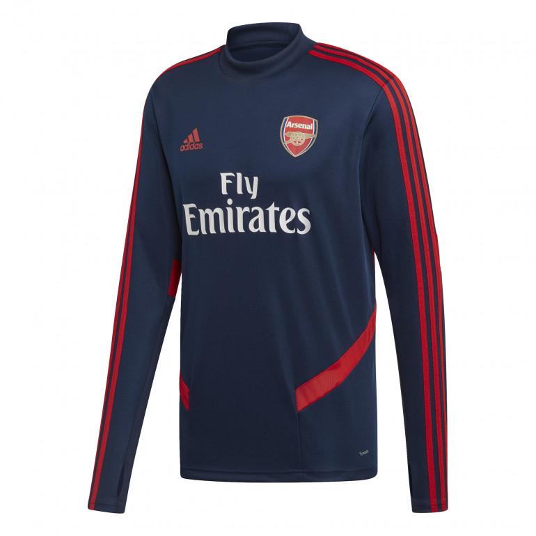 Sweat entraînement Arsenal bleu 2019/20