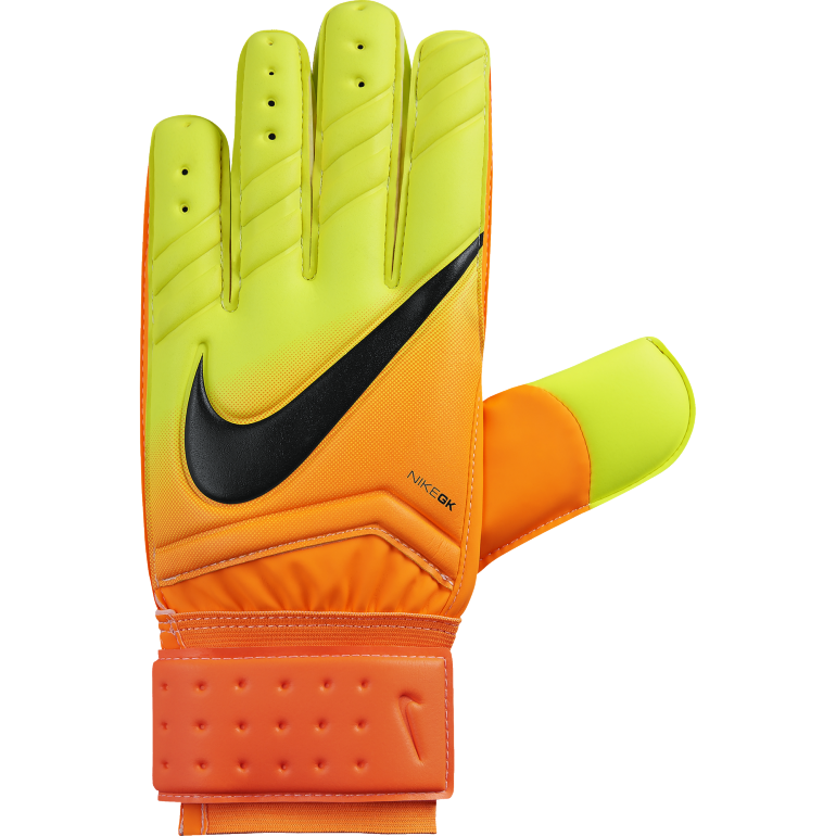 gants gardien nike spyne pro orange et jaune sur. Black Bedroom Furniture Sets. Home Design Ideas