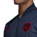 Veste survêtement Arsenal Anthem bleu 2019/20