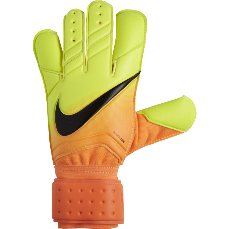 gants gardien nike grip 3 orange et jaune sur. Black Bedroom Furniture Sets. Home Design Ideas