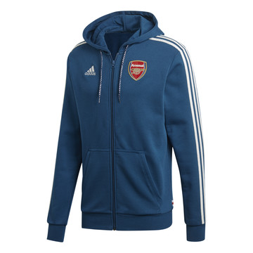 Veste survêtement Arsenal FZ HD bleu 2019/20