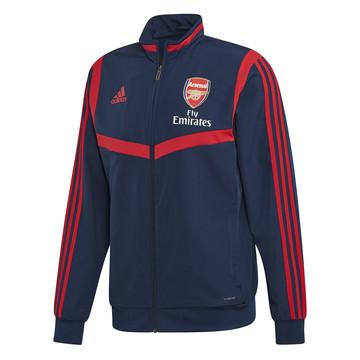 Veste entraînement Arsenal bleu rouge 2019/20
