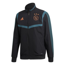 Veste entraînement Ajax Amsterdam noir bleu 2019/20