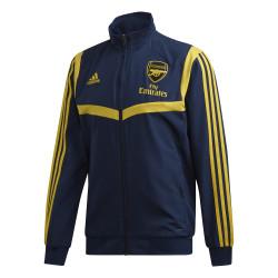 Veste entraînement Arsenal bleu jaune 2019/20